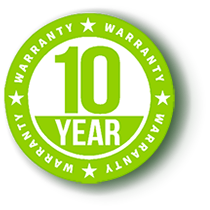 NEW 10 Year Warranty